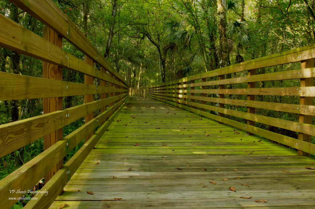 Eureka Springs Park boardwalk