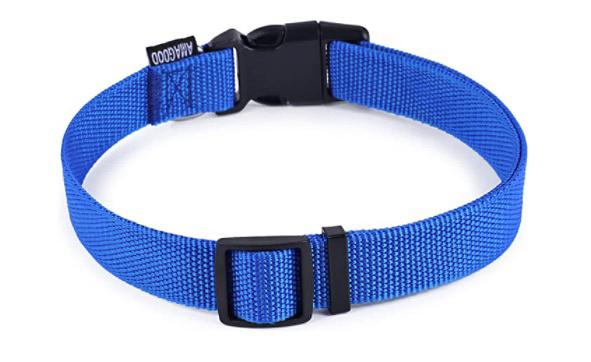 AMAGood blue dog collar