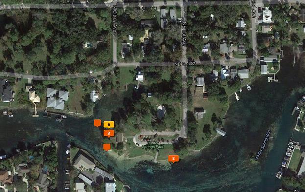 Hunter Springs Google/LR Map